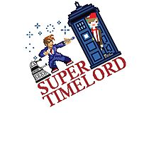 Super TimeLord Photographic Print