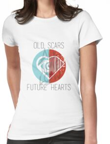 Old Scars Future Hearts Womens Fitted T-Shirt