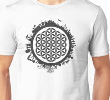 Sacred Geometry: Flower Of Life: Manifestation (Astrological) Unisex T-Shirt