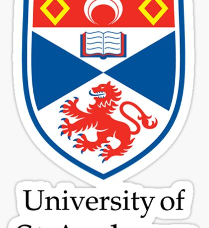 University of St Andrews Sticker