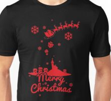 CHRISTMAS NIGHT ILUSTRATION Unisex T-Shirt
