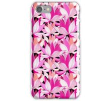 beautiful lotus flower pattern iPhone Case/Skin