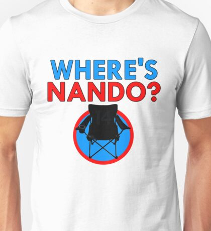 Where's Nando? (Alonso) Unisex T-Shirt