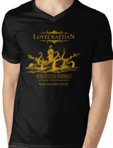 Lovecraftian - R'lyeh Whiskey Gold Label Mens V-Neck T-Shirt