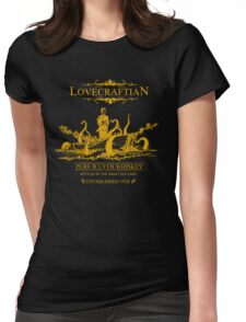 Lovecraftian - R'lyeh Whiskey Gold Label Womens Fitted T-Shirt