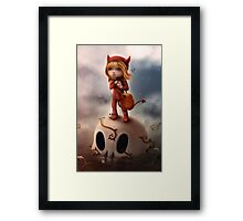 Wickedly Drawn Framed Print