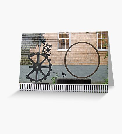 Outdoor Art Greeting Card