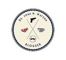 John Watson - Blogger Photographic Print