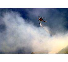 Barnett Fire Photographic Print