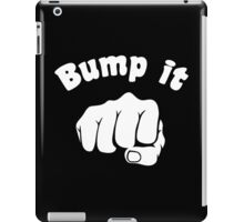 Fist Bump It iPad Case/Skin