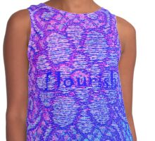 Love For Flowers by Nikki Ellina Contrast Tank