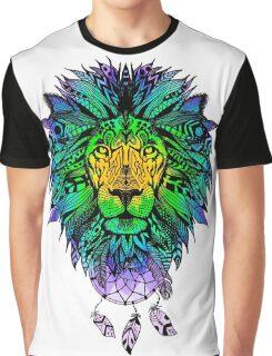COOL LION MANDALA Graphic T-Shirt