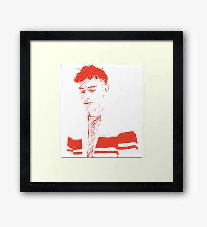 Olly Alexander - Years & Years Framed Print