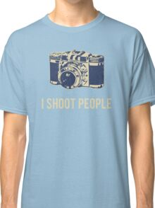 I Shoot People Photography Camera Classic T-Shirt