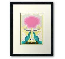 Fluttershy, Subtle Brony Poster #4 Framed Print