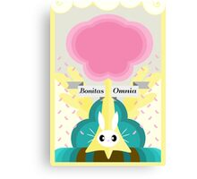 Fluttershy, Subtle Brony Poster #4 Canvas Print