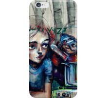 Laboratory of thoughts iPhone Case/Skin
