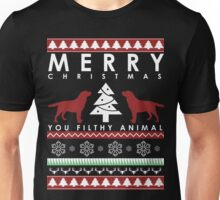 LABRADOR RETRIEVER CHRISTMAS FILTHY ANIMAL Unisex T-Shirt