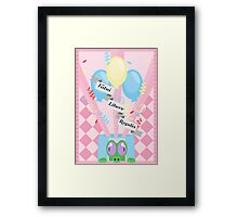 Pinky Pie, Subtle Brony Poster #6 Framed Print