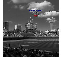 Chicago Home of Baseball Fever Photographic Print