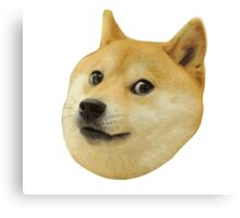 Doge Very Wow Much Dog Such Shiba Shibe Inu Canvas Print
