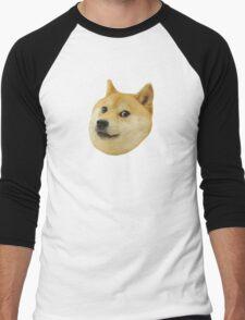 Doge Very Wow Much Dog Such Shiba Shibe Inu Men's Baseball ¾ T-Shirt