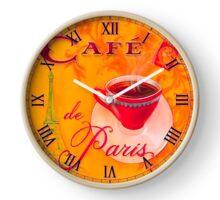 Wall Clock Café de Paris Clock
