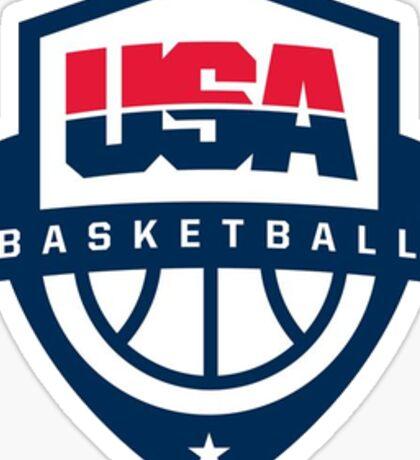 Team USA basketball Sticker