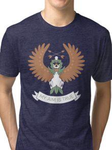 My Aim Is True Tri-blend T-Shirt