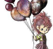 Space Balloons by Indigo East