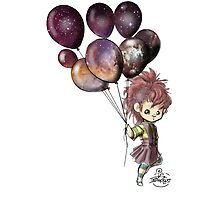 Space Balloons Photographic Print