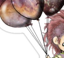 Space Balloons Sticker