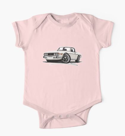 Triumph Stag White (with Black Interior) One Piece - Short Sleeve