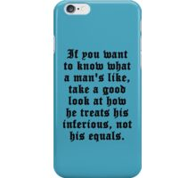 Sirius Black quote iPhone Case/Skin