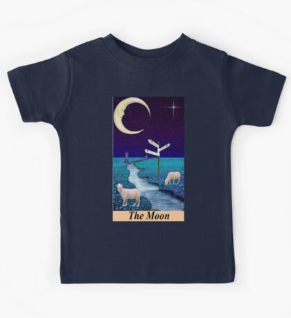 THE MOON Kids Tee