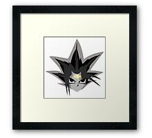 The King of Games - Yu-Gi-Oh Shirt Framed Print