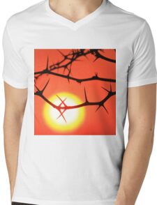Red Thorn - Simply Majestic Nature  Mens V-Neck T-Shirt