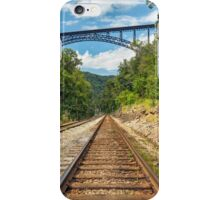 Railroad and Big Bridge iPhone Case/Skin