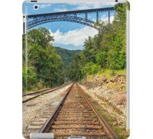 Railroad and Big Bridge iPad Case/Skin