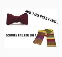Bow-Ties Aren't Cool... Scarves Are However Kids Clothes
