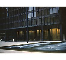 Seagram Plaza Photographic Print