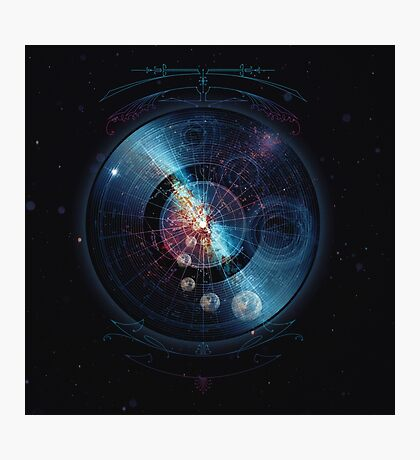 Space Music Photographic Print