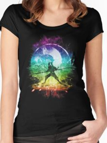 elemental storm Women's Fitted Scoop T-Shirt