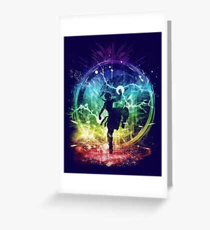 water tribe storm Greeting Card