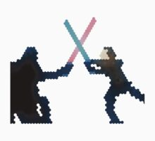 Star wars Vader and Luke fight  Baby Tee