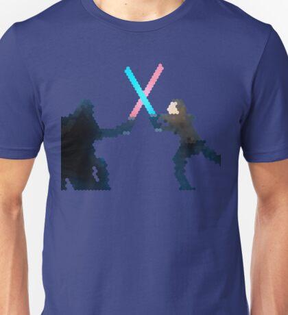 Star wars Vader and Luke fight  Unisex T-Shirt