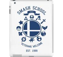 Smash School Veteran Class (Blue) iPad Case/Skin