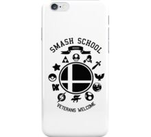 Smash School Veteran Class (Black) iPhone Case/Skin