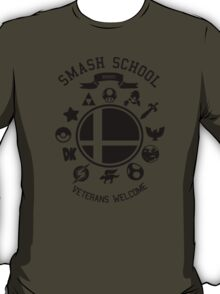 Smash School Veteran Class (Black) T-Shirt