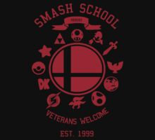 Smash School Veteran Class (Red) by Nguyen013